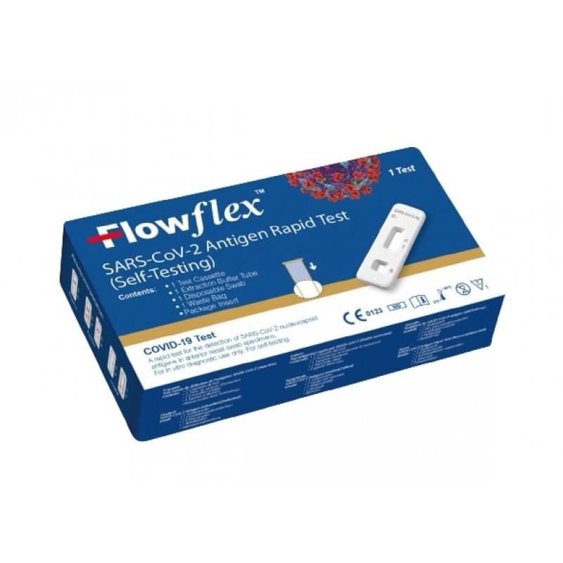 FLOWFLEX SARS-COV-2 ANTIGEN RAPID TEST KIT SINGLE BOX
