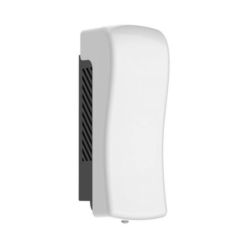 WALL MOUNTED SINGLE SANITISER / SOAP DISPENSER WHITE 800ML
